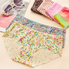 2016 Hot sale New Sexy Lace Women Panties Lady's Underwear Briefs 1 Piece free shipping