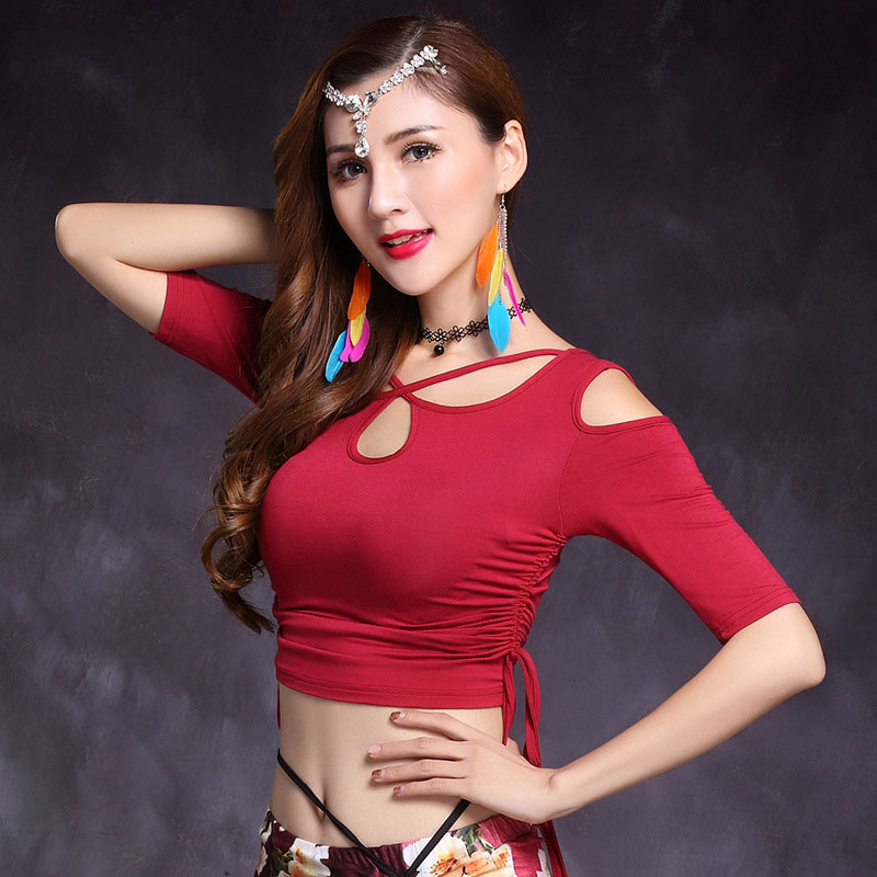 Aliexpresscom  Buy 2018 Adult Sexy Mesh Belly Dance Tops -8089