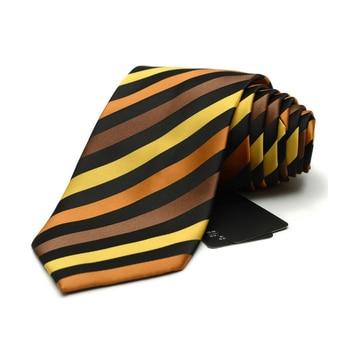 Wedding Brand  Striped 9cm Necktie For Men Business Neckwear Blue Gravatas High Quality Polyester Mens Ties gravatas para homens