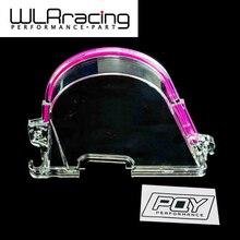 WLR Racing-CLEAR CAM зубчатый ремень ГРМ Крышка турбо кулачковый шкив для HONDA CIVIC 96-00 D15 D16 WLR6337