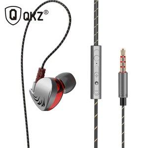 Image 1 - 100% オリジナル QKZ CK7 イヤホンで、耳の制御スピーカー有線 3.5 ミリメートルヘッドセットとマイク 1.2 メートルインイヤースポーツイヤホン