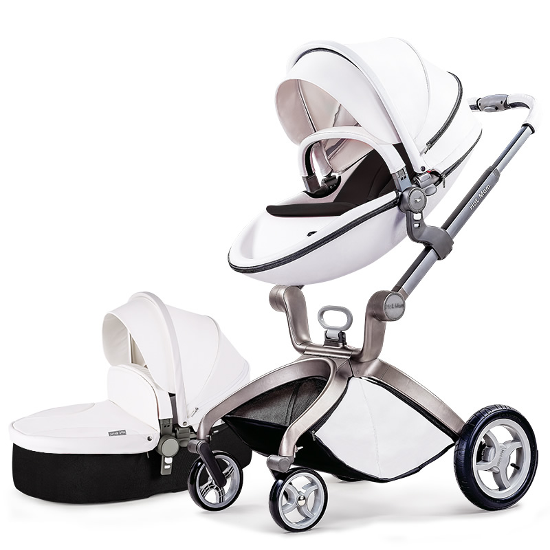HK free! Original hot mum baby strollers 2 in 1  seven colors in stock original hot mum baby strollers 2 in 1 bb car folding light baby carriage six free gifts send rain cover