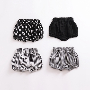 Summer Fashion baby girls boys shorts Newborn Baby bloomers Baby Girl Pattern Shorts Summer toddler Trousers PP Pants Clothes