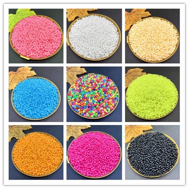 1000/500 шт./партия 3/4 мм разноцветный круглые бусины из акрила для DIY Браслеты & ожерелья ювелирные изделия Аксессуары для рукоделия # ZV09