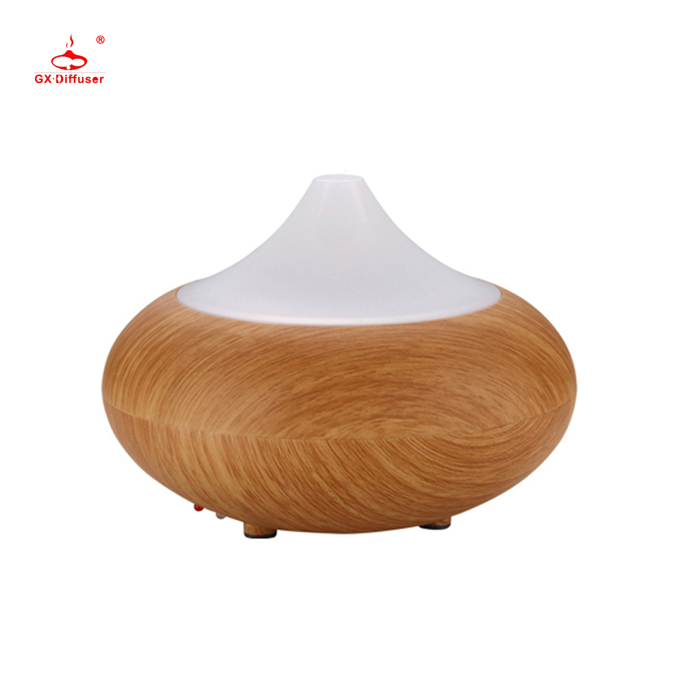 GX.Diffuser Air Humidifier 7 Color Wood Grain Diffuseur Huile Essentiel Humificador Essential Oil Diffuseur for Aroma Diffuser