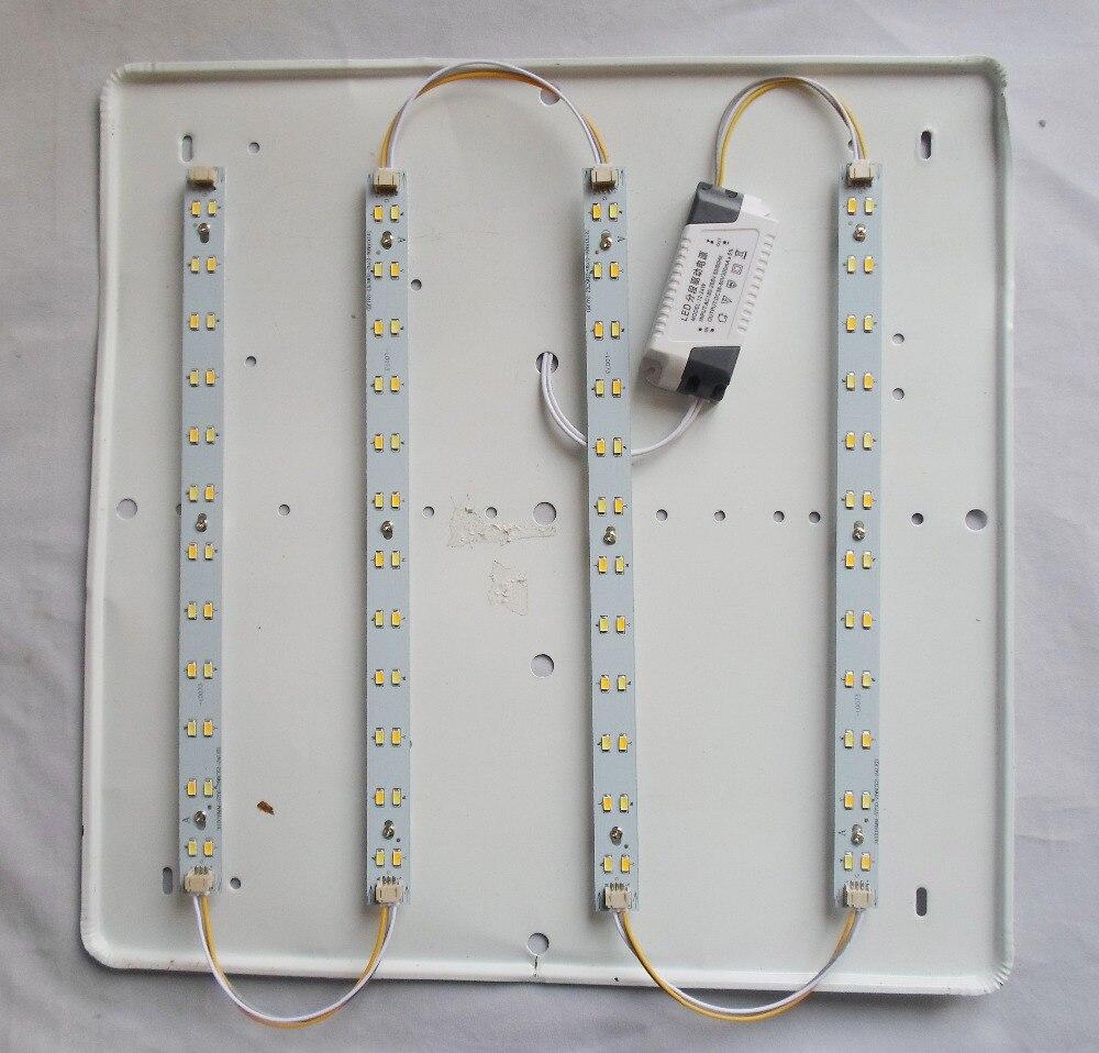 DIY 220-240 V 12 W 18 W 24 W 30 W 36 w LED rígida Barra de luz LED publicidad llevó la luz de techo llevó la luz del bar 31 cm 41 cm 52 cm doble color