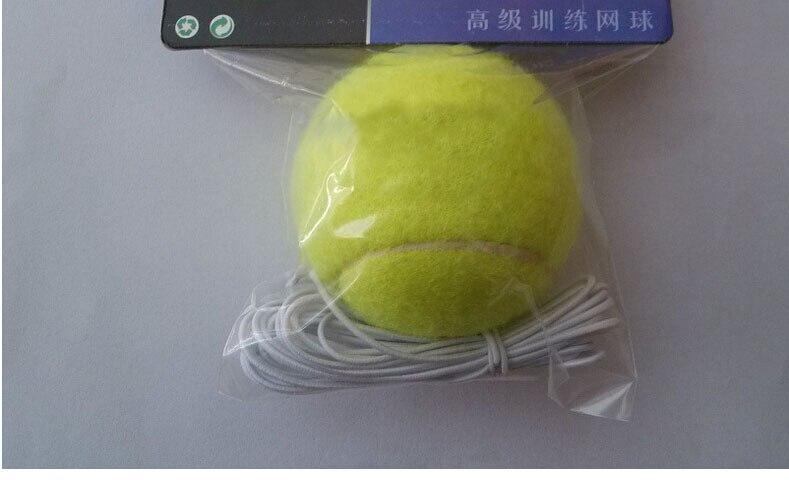סיטונאי טניס אימון כדור עמיד טניס כדור עם חבל אלסטי