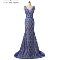 Navy Blue Lace Mother Of The Bride Dresses Long 2017 Cheap Wedding Guest Dress Mermaid Evening