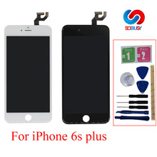 High Screen For iPhone 6s Plus LCD Display Touch Screen Pantalla Digitizer Assembly Replacement