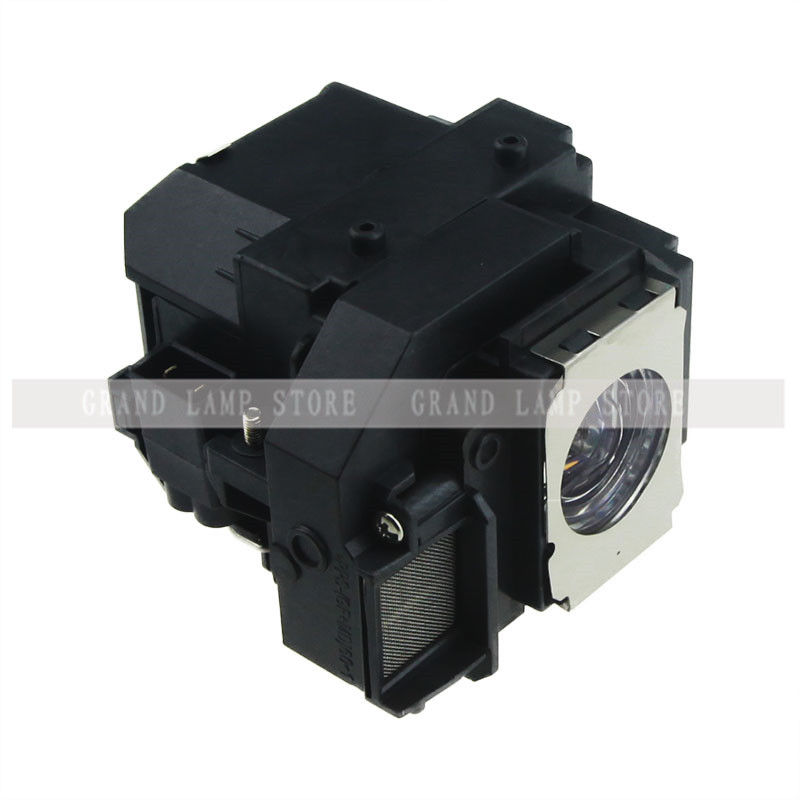 Compatible projector lamp bulb ELPLP58 for Epson EB-S9 EB-S92 EB-W10 EB-W9 EB-X10 EB-X9 EB-X92 with housing