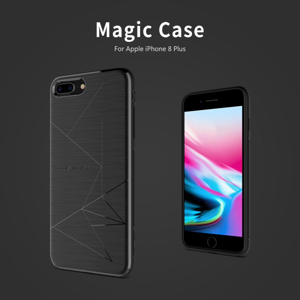 Nillkin Wireless charging receiver Magic case For iPhone 8 Plus case cover wireless charger receiver case For iphone 8 Plus case
