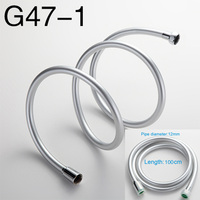 GAPPO Flexible Shower hose plumbing hose water pipe Chrome Water Head Bathroom Accessories tobo manguera de ducha G47 1