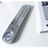 Odatime Muur Gemonteerde Thermometer & Hygrometer Woondecoratie Huishouden Outdoor Temperatuur-vochtigheidsmeter Met Kwik Pointer