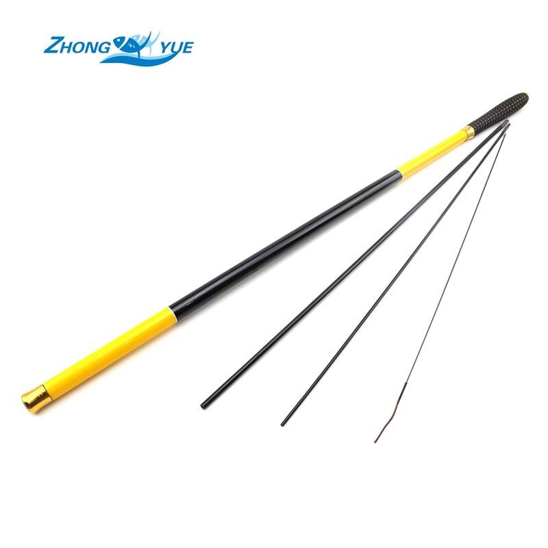 Promotion! Carbon Fiber Stream Hand Fishing Rod 3.6m 4.5m 5.4m 6.3m 7.2m Ultra Light Feeder Carp Fishing Pole Fishing Tackle