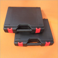 Internal 388*308*90mm PP plastic suitcase for tools plastic tool box