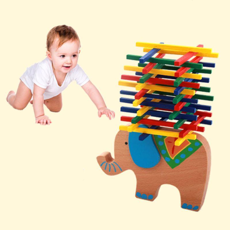 Wooden Educational Camel Balance Beam Game For Children Kids Hands Learning