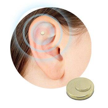 2PCS Magnet Auricular Quit Smoking Zerosmoke AcuPressure Patch