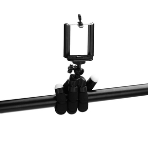 Image 5 - חצובה עבור טלפון חצובה חדרגל selfie מרחוק מקל עבור smartphone iphone tripode עבור טלפון נייד מחזיק bluetooth חצובות