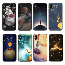 The Little Prince Phone Case for iPhone 6 6s 7 8 Plus X XR XS Max Soft Shockproof Cover Childhood Anime
