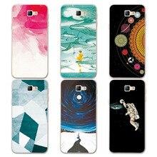 Couple Phone Case For Samsung Galaxy J5 Prime, Universe Planet Astronauts Design Coque For Samsung Galaxy J5 Prime G570F Case