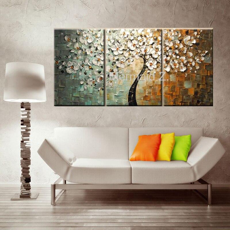Φ_Φ100% handgeschilderde art abstract aoil schilderen muur ...