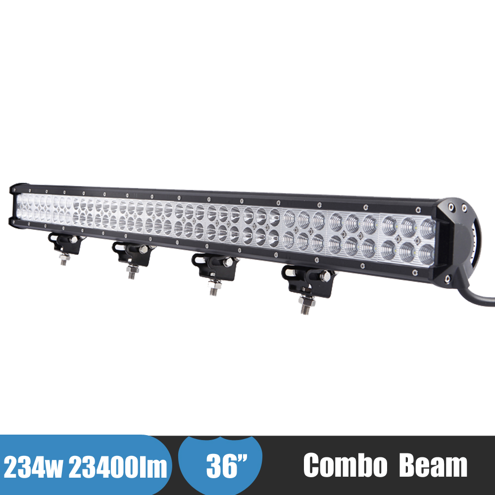 234w 36 Inch LED Offroad Light Bar 4x4 AWD 4WD Suv Car Driving Light Lamp for Nissan Pathfinder 2008 12v 24v Truck Boat ATV Bar 234w 78 high power cree led work light bar 35 inches led light bar for truck boat atv suv 4wd