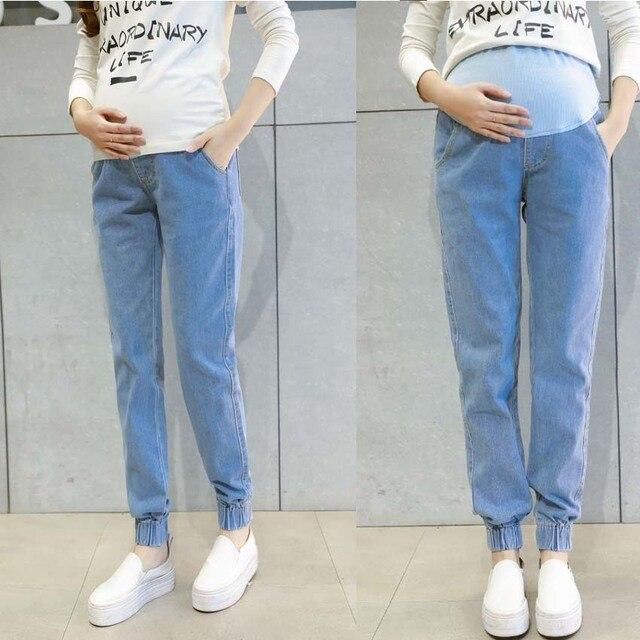 cea9429db Vaqueros ropa de maternidad pantalones para las mujeres embarazadas ropa de  enfermería pantalones embarazo mono Denim