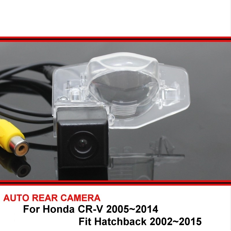 For Honda CRV CR-V Fit Hatchback 2002 - 2015 Car Parking Camera Rear View Camera SONY HD CCD Night Vision Back up Reverse Camera