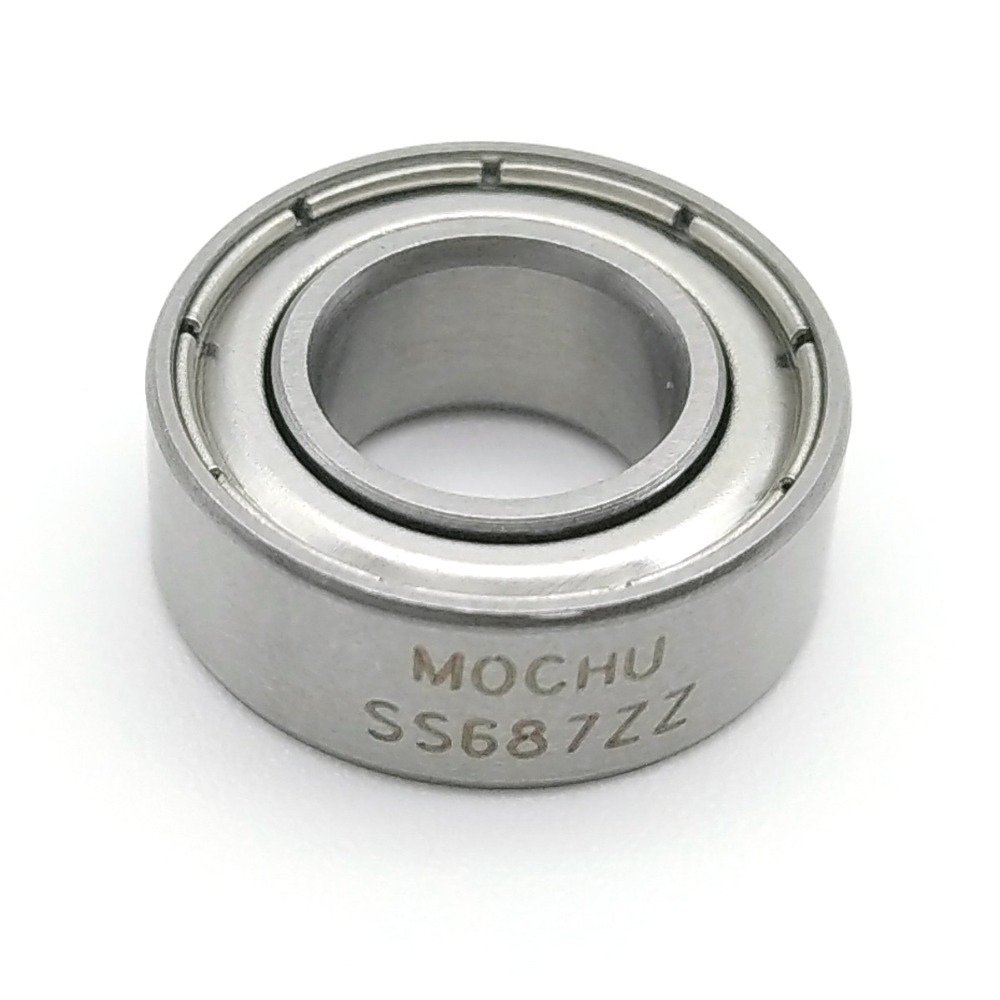 1pcs Bearing SS687ZZ SS618/7-2Z SS687/4ZZ 687 7X14X4 7X14X3.5 7X14X5 MOCHU SUS440C Stainless Steel Bearings Resistant-corrosion