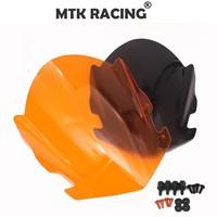 For KTM RC125 RC200 RC390 2014 2018 RC 125 200 390 SX Duke 2014 2018 double bubble windshield visor