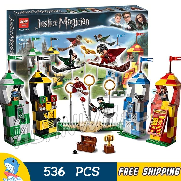 New Harry Potter Quidditch Match 75956 Building Toys Set Toys /& Hobbies No Box