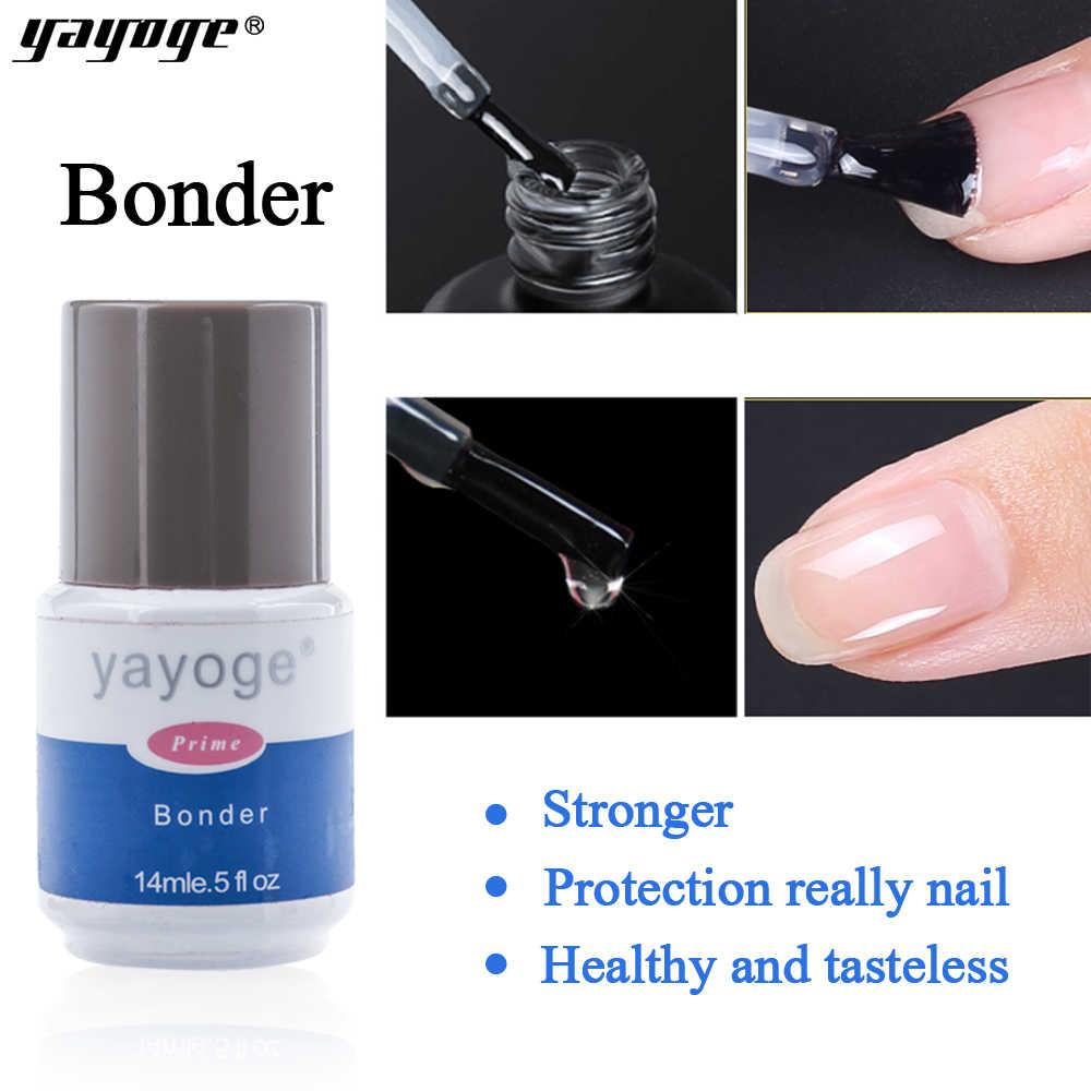 Yayoge Базовое покрытие гель лак для ногтей Бондер УФ гель лак праймер впитывающийся акриловый прочный Бонд без запаха связывающие