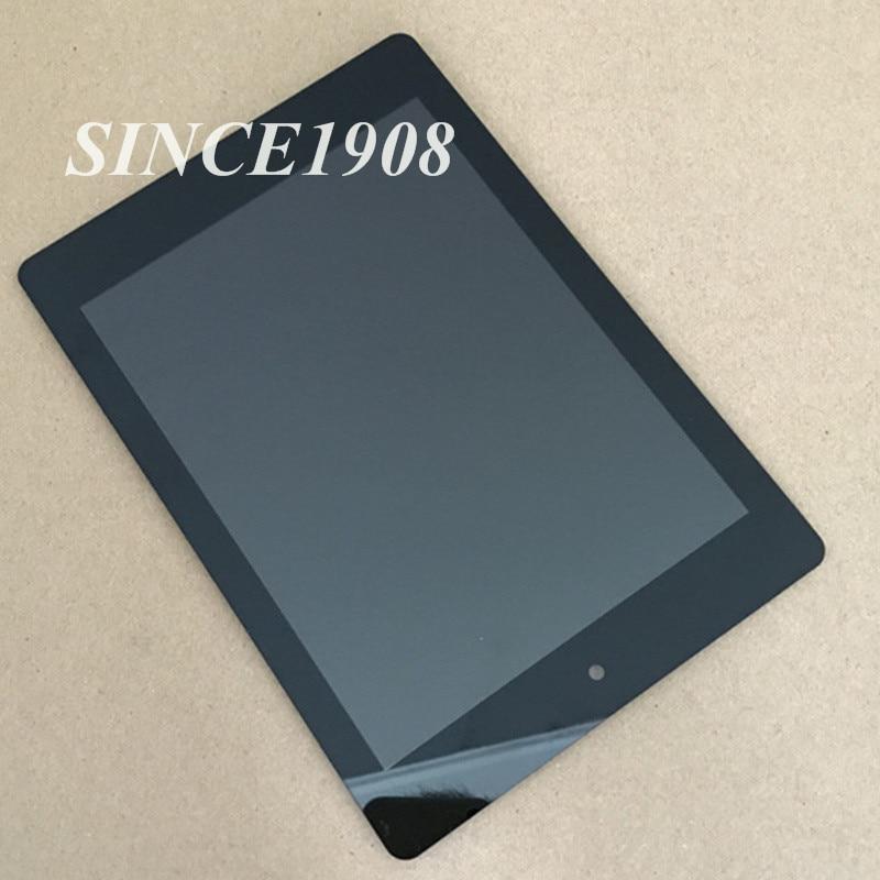Touchscreen per Acer Iconia A1 A1-810 A1-811 Schermo Lcd Digitizer Assembly trasporto libero Nero + Strumenti gratuiti