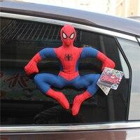 1 parça ile 25 cm avengers spiderman çocuklar Hediyeler ve doğum günü Için Sucker Peluş Oyuncaklar Bebek
