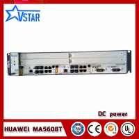 Mini OLT MA5608T Hua wei original GPON OLT, DC Optical Line Terminal mit EINEM GPBD oder eine GPFD, 2U höhe