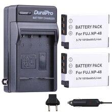 2 шт. np-48 NP 48 NP48 3.7 В 1010 мАч Li-Ion Bateria машины Зарядное устройство + ЕС Разъем для Fujifilm fuji xq1 xq2 np-48 Батареи для камеры