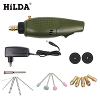 HILDA Mini Electric Mini Drill Multifunction Engraving Machine Electric Tool Kit 12000rpm For Dremel Kit Engraver
