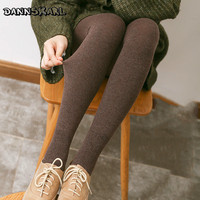 New Collant Autumn Women Tights Casual Cotton Stripe Tights Women Winter Female Pantyhose Stockings Warm Female