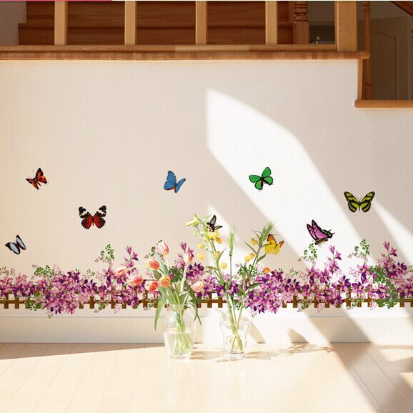 3d Wall Stickers Flowers