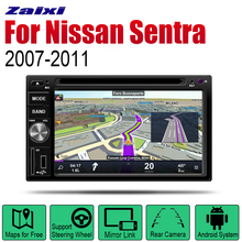 Auto Radio 2 Din Android Car DVD Player For Nissan Sentra 2007~2011 GPS Navigation BT Wifi Map Multimedia system Stereo цена
