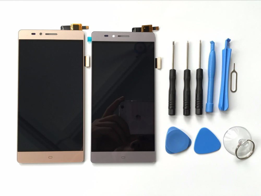 ФОТО For Elephone Vowney Lite Touch Screen Sensor With LCD Display Panel Assembly 100% New Original With Tracking Number