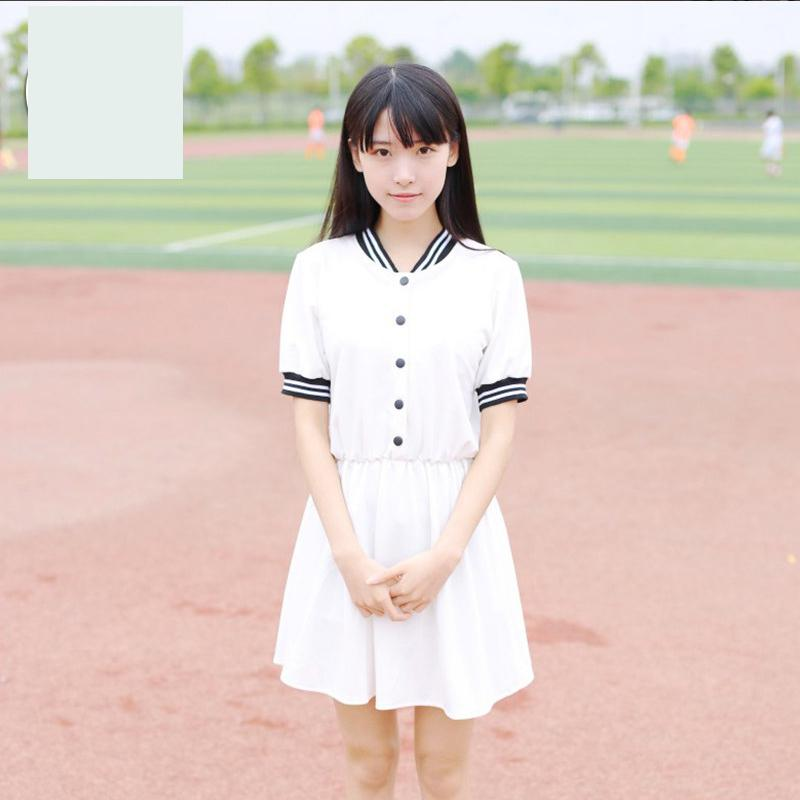 New Japanese School Girl Uniform New Summer Short Sleeved Uniforms Women Girls Black Sailors Suit Student Skirt Cosplay Uniform
