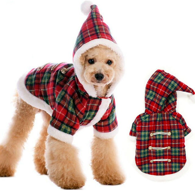 Products For Large Dog Christmas Clothes Warm Winter Jacket Coat Clothing  For Golden Retriever Rottweiler Collie - Products For Large Dog Christmas Clothes Warm Winter Jacket Coat