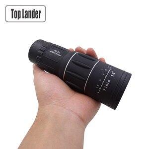 Image 1 - Télescope monoculaire Mobile, Zoom 16x52, objectif de Vision de jour, haute définition, pour la chasse et le voyage