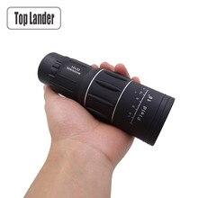 単眼望遠鏡携帯双眼鏡 hd 屋外 16 × 52 ズーム強力な単眼日ビジョンスコープ hd 狩猟 teleskop 旅行