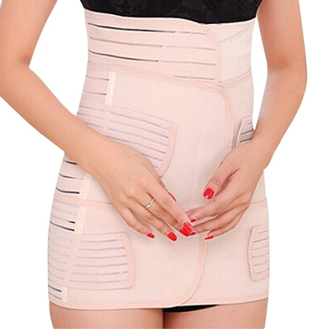 Hot 3 Pieces/Set Postnatal bandage After Pregnancy Belt Postpartum Bandage Postpartum Belly Band for Pregnant Women Slim Support