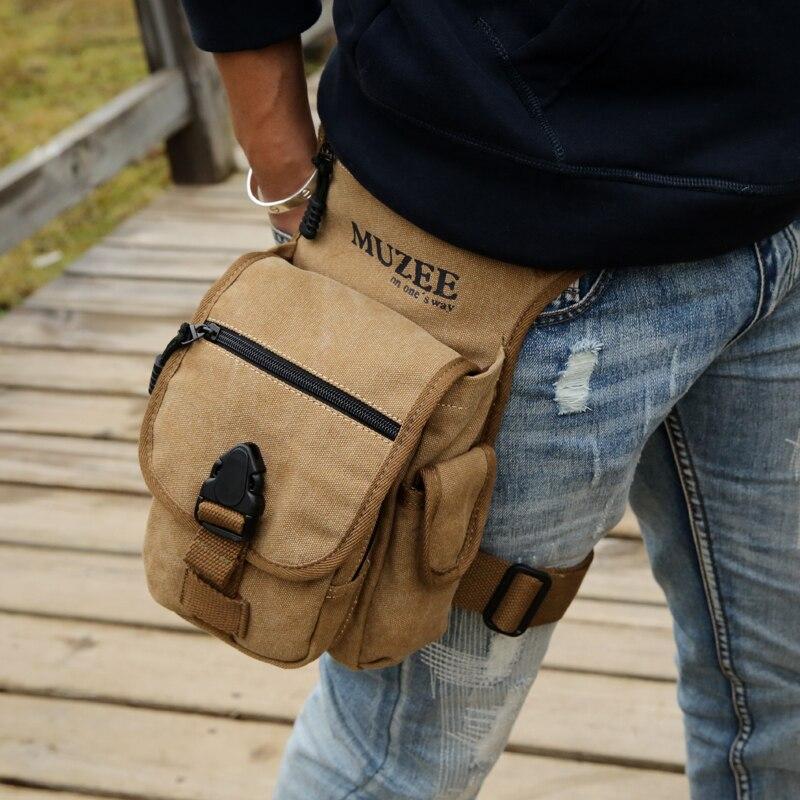 cintura da lona sacolas do Formato : Caixa