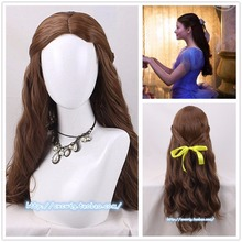 Nutcracker Four Realms Cosplay Wig Clara Long Wavy Synthetic Hair for Adult Role Play
