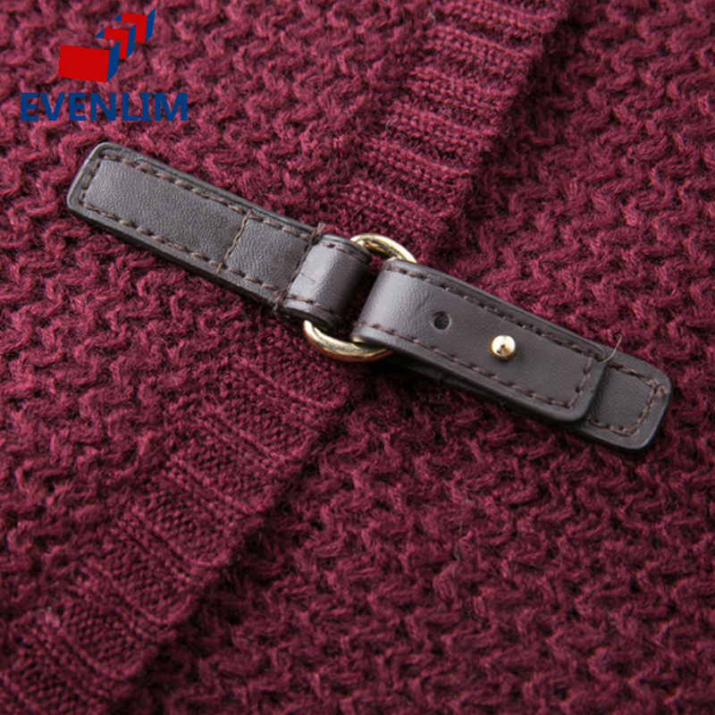 5a336fc6e5 EVENLIM Autumn Knitted Sweater Cardigan Women Long Navy Cardigan Winter  Female turn down Collar Red Sweater Cardigan 2017 YH7127-in Cardigans from  Women s ...