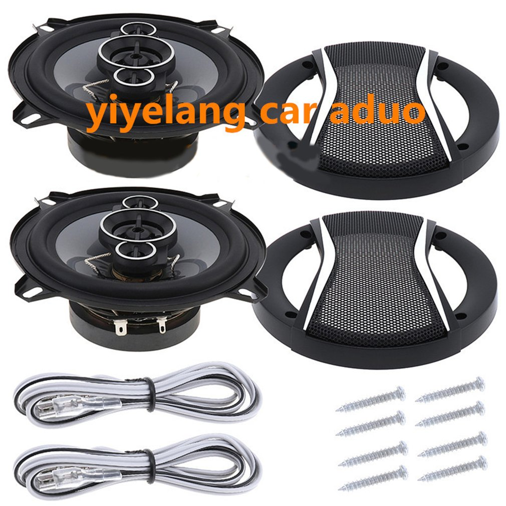 Car speakers 5 Inch Car HiFi Coaxial Speaker Vehicle motocycle loudspeaker Auto Audio Music Stereo Speakers for Cars TS-A1396S